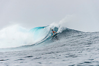 Namotu Island, Fiji (Thursday, June 4, 2015) Bianca Buitendag (ZAF) - Sally Fitzgibbons (AUS) won the fifth stop on the 2015 WSL Championship Tour (CT), the Fiji Women&rsquo;s Pro, in challenging and sizeable surf at Cloudbreak. Fitzgibbons defeated Bianca Buitendag (ZAF) in the Final after a day of big upsets which saw the world&rsquo;s best female surfers battle one another in solid eight-to-10-foot (3 - 3.5 metres) waves at the remote coral reef.<br />  <br /> Today&rsquo;s victory was Fitzgibbons&rsquo; first of the year and the ninth elite CT win of her career. The result sees the Australian move up three places to third on the Jeep Leaderboard, putting her firmly back in the world title race. The 2014 event winner was able to defend her title, claiming back-to-back wins in Fiji despite suffering a perforated eardrum in Round 2.<br />  Today is Buitendag&rsquo;s second Final appearance of 2015, after a match-up with Courtney Conlogue (USA) in Rio, and the third of her CT career. The South African earns 8,000 points for the runner-up result and jumps up three places on the Jeep Leaderboard to 6th.<br />  Photo: joliphotos.com