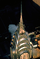 New York. Chrysler Building Aerial, New York City, designed by William Van Alen in 1928