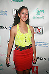 Bianca Gonzalez Attends Swim Sunrise Fashion Show Held at New York Aqua Bar & Lounge inside Grace Hotel, NY 7/27/12
