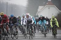 Dwars Door Vlaanderen 2013.Ian Stannard (GBR) in the pack