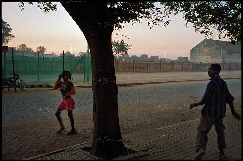 Huambo, Angola, May 2006.Just 4 years after the end of a 25 year long civil war, Angola is starting to emerge again, yet a lot remains to be done: entire regions are still cut-off from the ouside world because of landmines and broken bridges, over 80% of the population lives below the poverty threshold in one of the potentially richest country in Africa. Natural ressources include oil, diamonds, gold and...water!.Malaria, tuberculosis, HIV/Aids are endemic, cholera and meningitis frequent.
