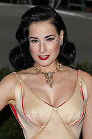 """NEW YORK CITY, NY, USA - MAY 05: Dita Von Teese at the """"Charles James: Beyond Fashion"""" Costume Institute Gala held at the Metropolitan Museum of Art on May 5, 2014 in New York City, New York, United States. (Photo by Xavier Collin/Celebrity Monitor)"""