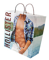 Hollister Carrier Bag - Jan 2014.