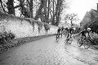 on the Chemin de Wih&eacute;ries cobble section (Honelles)<br /> <br /> GP Le Samyn 2017 (1.1)