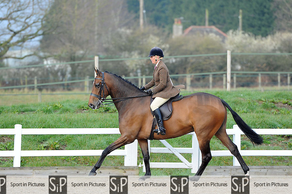 Class 1. Affiliated Spring Showing. Brook Farm Training Centre. Essex. 04/04/2015. MANDATORY Credit Ellen Szalai/Sportinpictures - NO UNAUTHORISED USE - 07837 394578