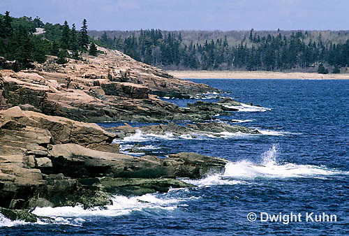 ON01-008z  Acadia National Park, Maine - ocean and rocky coast