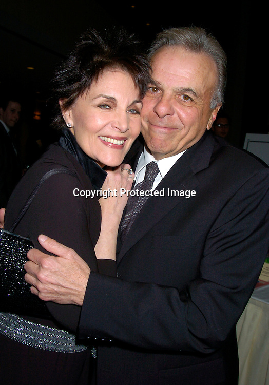 Linda Dano and husband Frank Attardi ..at HeartShare 's Annual Spring Gala on March 24, 2004 at the Marriott Marquis in New York City...Photo by Robin Platzer, Twin Images