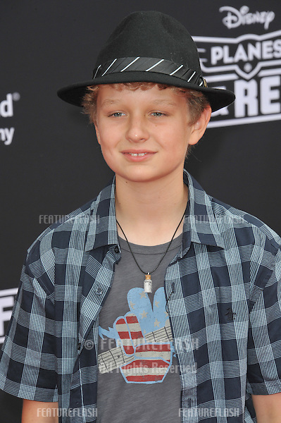 Riley Thomas Stewart at the world premiere of Disney's &quot;Planes: Fire &amp; Rescue&quot; at the El Capitan Theatre, Hollywood.<br /> July 15, 2014  Los Angeles, CA<br /> Picture: Paul Smith / Featureflash
