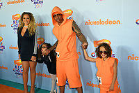 Singer Mariah Carey &amp; husband Nick Cannon &amp; children at the Nickelodeon 2017 Kids' Choice Awards at the USC's Galen Centre, Los Angeles, USA 11 March  2017<br /> Picture: Paul Smith/Featureflash/SilverHub 0208 004 5359 sales@silverhubmedia.com