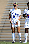 23 August 2015: Duke's Cassie Pecht. The Duke University Blue Devils played the Weber State University Wildcats at Fetzer Field in Chapel Hill, NC in a 2015 NCAA Division I Women's Soccer game. Duke won the game 4-0.