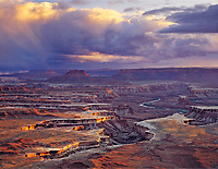 Green River Overlook, Green River Canyons and White Rim, Island in the Sky, Canyonlands National Park, Utah