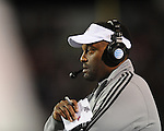 Texas A&amp;M Coach Kevin Sumlin vs. Ole Miss in Oxford, Miss. on Saturday, October 6, 2012. Texas A&amp;M won 30-27...