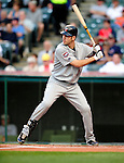 4 September 2009: Minnesota Twins' catcher Joe Mauer in action against the Cleveland Indians at Progressive Field in Cleveland, Ohio. The Indians defeated the Twins 5-2 to take the first game of their three-game weekend series. Mandatory Credit: Ed Wolfstein Photo