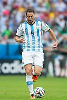 Gonzalo Higuain of Argentina
