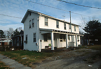 1992 January ..Conservation.Cottage Line..EXISTING CONDITIONS.9410 CHESAPEAKE STREET...NEG#.NRHA#..