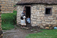 April 2011. Qacha's Nek, Lesotho.