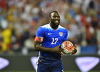 Washington D.C. - Friday, September 4, 2015: The USMNT take the lead over Peru 2-1 during second half action in an international friendly game at RFK stadium.