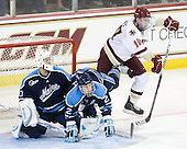 Dan Sullivan (Maine - 30), Mike Cornell (Maine - 2), Jimmy Hayes (BC - 10) - The Boston College Eagles defeated the visiting University of Maine Black Bears 4-0 on Friday, November 19, 2010, at Conte Forum in Chestnut Hill, Massachusetts.