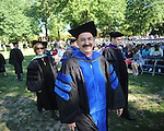 Samir Husni at University of Mississippi graduation ceremonies in the Grove on campus on Saturday, May 8, 2010.