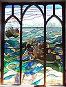 Oriel Hicks, Isles of Scilly stained glass artist.