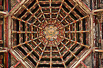 Octagonal Dragon Ceiling in Front Pavilion of Longshan Temple, Lugang, Changhua County, Taiwan