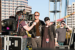 "Actors Ryan Gosling and Rooney Mara on the set of the film, ""Lawless"" at Fun Fun Fun Fest at Auditorium Shores, Austin Texas, November 4, 2011."