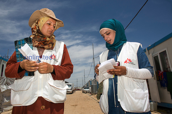 MSF mental health activities in Alwan refugee camp, Northern Iraq