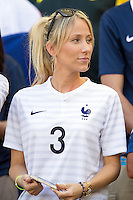 Sandra Evra the wife of Patrice Evra of France