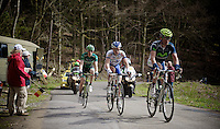 Liege-Bastogne-Liege 2012.98th edition..typical Ardennes hill