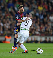 Fussball Uefa Champions League 2012/13: FC Barcelona - Celtic Glasgow