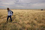 Taylor Wilson searches for radioactive bomb shards in a field near Albuquerque, New Mexico, where the air force accidentally dropped a hydrogen bomb in 1957. Taylor Wilson is the youngest individual on Earth to have achieved a nuclear fusion reaction..