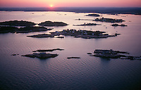 Thimble Islands, Branford, CT aerial