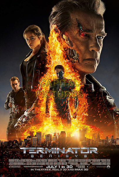 ONE SHEET POSTER ART<br /> in Terminator Genisys (2015) <br /> *Filmstill - Editorial Use Only*<br /> CAP/FB<br /> Image supplied by Capital Pictures