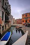 """Campo della Maddalena is a small square in the """"sestiere"""" of Cannaregio, one of the six districts of Venice. Taken on an overcast afternoon of mid January."""