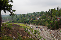 General views of agriculture and village life in Surkhet district, Western Nepal, on 30th June 2012. In Surkhet, StC partners with Safer Society, a local NGO which advocates for child rights and against child marriage.  Photo by Suzanne Lee for Save The Children UK
