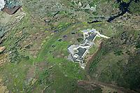 aerial photograph bunker Presidio of San Francisco