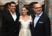 "NEW YORK, NY - August 15 : Anjay Nagpal, Natalie Portman, Peter Kujawski attend the New York screening for "" A )Tale of Love and Darkness"" on august 15, 2016 at the Crosby Hotel in New York City.  Photo Credit:John Palmer/ MediaPunch"