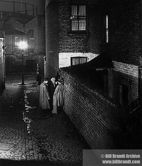 Alley off East India Dock Road, London