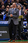 MILWAUKEE, WI - MARCH 18: Middle Tennessee Blue Raiders Head Coach Kermit Davis calls to his team during the first half of the 2017 NCAA Men's Basketball Tournament held at BMO Harris Bradley Center on March 18, 2017 in Milwaukee, Wisconsin. (Photo by Jamie Schwaberow/NCAA Photos via Getty Images)