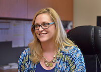 NWA Democrat-Gazette/BEN GOFF &bull; @NWABENGOFF<br /> Natalie Burchit talks about her work as director of the American Diabetes Association - Northwest Arkansas on Friday July 24, 2015 at the American Diabetes Association office in Bentonville.