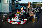 Carolynn Hoy and Jessica Hawkins, Karting