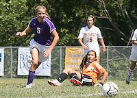 Girls JV Soccer vs Brebeuf 8-28-10