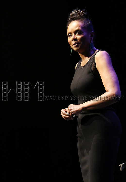 performs at Woodie King Jr.'s New Federal Theatre 44th Anniversary Gala honoring Voza Rivers at BMCC Tribeca Performing Arts Center on March 16, 2014 in New York City.