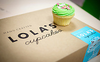 Box of Lola's Cupcakes - Oct 2013.