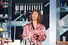 Linda <br /> by Penelope Skinner <br /> directed by Michael Longhurst <br /> at The Royal Court Theatre, London, Great Britain <br /> 30th November 2015 <br /> <br /> Nova Dumezweni as Linda <br /> <br /> <br /> <br /> Photograph by Elliott Franks <br /> Image licensed to Elliott Franks Photography Services