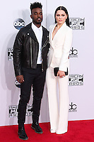 LOS ANGELES, CA, USA - NOVEMBER 23: Luke James, Jessie J arrive at the 2014 American Music Awards held at Nokia Theatre L.A. Live on November 23, 2014 in Los Angeles, California, United States. (Photo by Xavier Collin/Celebrity Monitor)