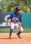 15 March 2016: Houston Astros infielder Tony Kemp, ranked the 15th Top Prospect in the Astros organization for 2016 by Baseball America, in action during a Spring Training pre-season game against the Washington Nationals at Osceola County Stadium in Kissimmee, Florida. The Astros fell to the Nationals 6-4 in Grapefruit League play. Mandatory Credit: Ed Wolfstein Photo *** RAW (NEF) Image File Available ***