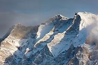 Mt Sukakpak of the Brooks range mountains, arctic, Alaska.