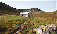 BNPS.co.uk (01202 558833)<br /> Pic: GeoffAllan/BNPS<br /> <br /> Tiny shelter in the wild heart of the Cairngorms.<br /> <br /> Views with rooms. - New book reveals the remote 'bothies' that lie hidden in some of Britain's most spectacular locations.<br /> <br /> Nestled away in the beautiful remote wilderness of Scotland are a network of secluded mountain huts - known as bothies - where walkers can stay the night before heading to pastures new.<br /> <br /> What is so special about these quaint outposts in some of the most idyllic and untouched landscapes north of the border is that they are completely free to use.<br /> <br /> As a result, the location of many bothies has been a closely guarded secret with visitor centres reluctant to advertise their whereabouts for fear they become overcrowded.<br /> <br /> But in his new book, The Scottish Bothy Bible, author and photographer Geoff Allan has listed more than 80 of them in a bid to make them known to a wider audience.