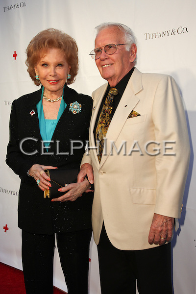 RHONDA FLEMING, DAROL WAYNE CARLSON. Red Carpet arrivals to An Evening of Legendary Style, honoring the American Red Cross Tiffany Circle Society of Women Leaders, at Tiffany & Co. on Rodeo Drive. Beverly Hills, CA, USA. May 6, 2010.